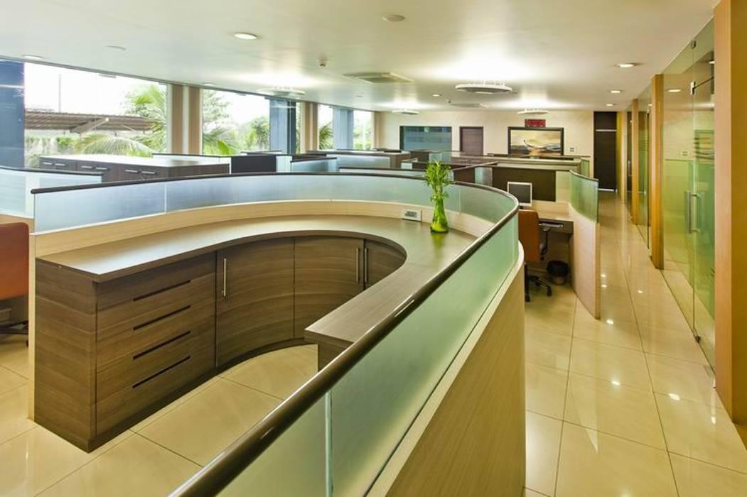 General Office Area by Studio - Architect Rajesh Patel Consultants P. Ltd Modern