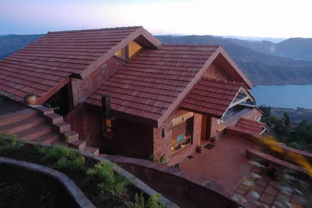 Bungalow on the edge Studio - Architect Rajesh Patel Consultants P. Ltd Modern houses