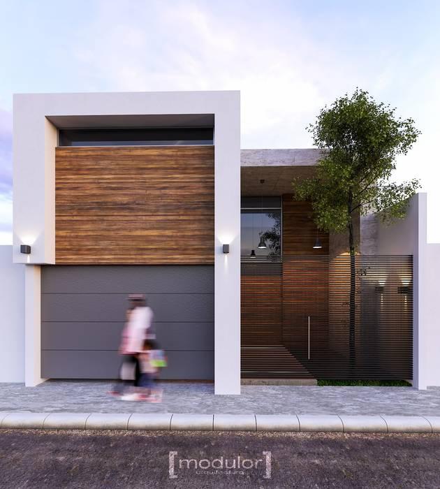 de Modulor Arquitectura Moderno Concreto