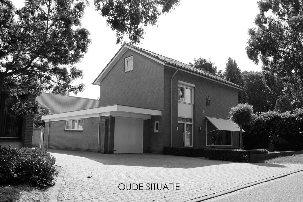 Oude situatie voorgevel:   door Bob Romijnders Architectuur & Interieur
