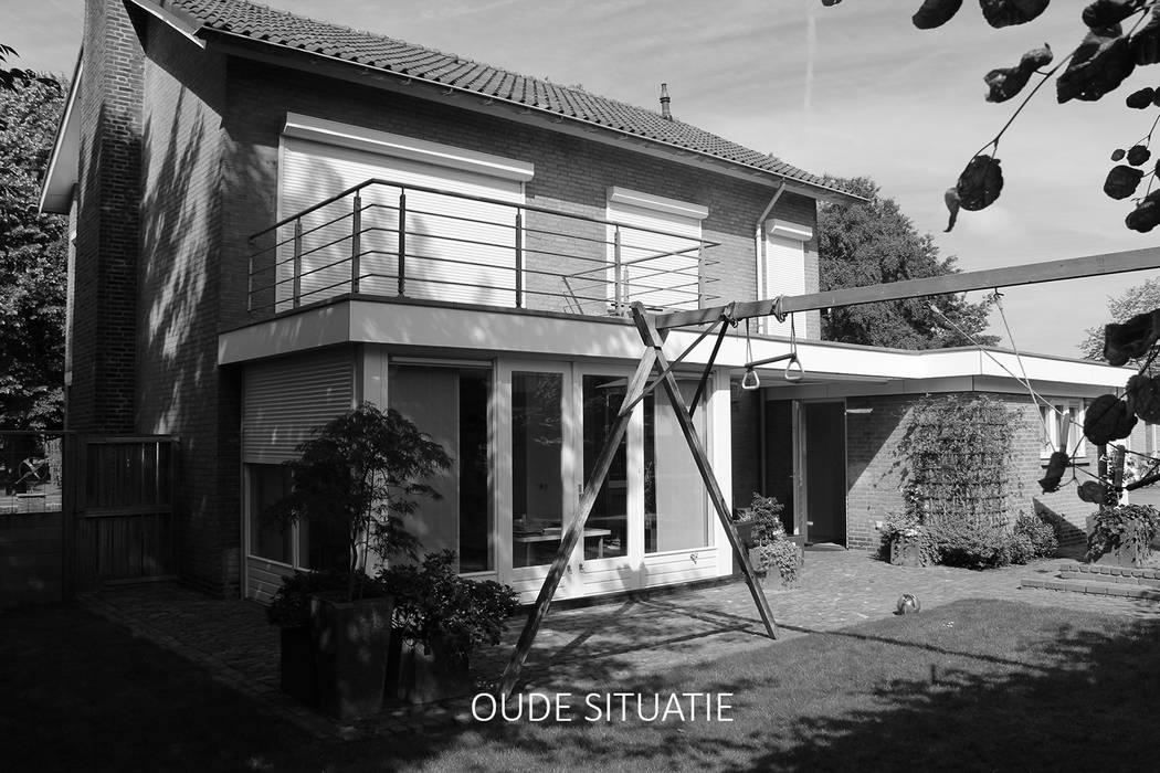 Oude situatie achtergevel:   door Bob Romijnders Architectuur & Interieur