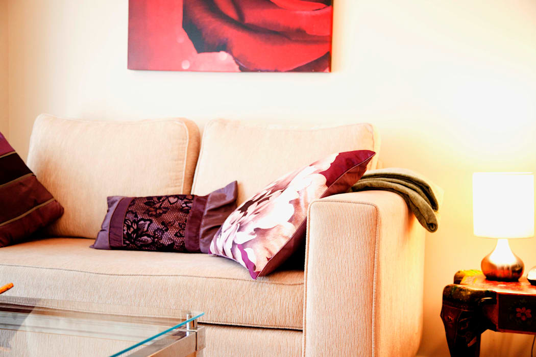 Studio Flat Interior Design Livings de estilo moderno de ab interiors Moderno