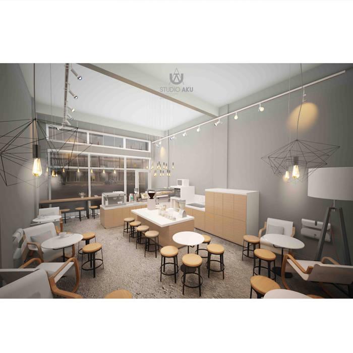 Spotten 02 Ruang Komersial Gaya Skandinavia Oleh Studio AKU Skandinavia Kayu Buatan Transparent