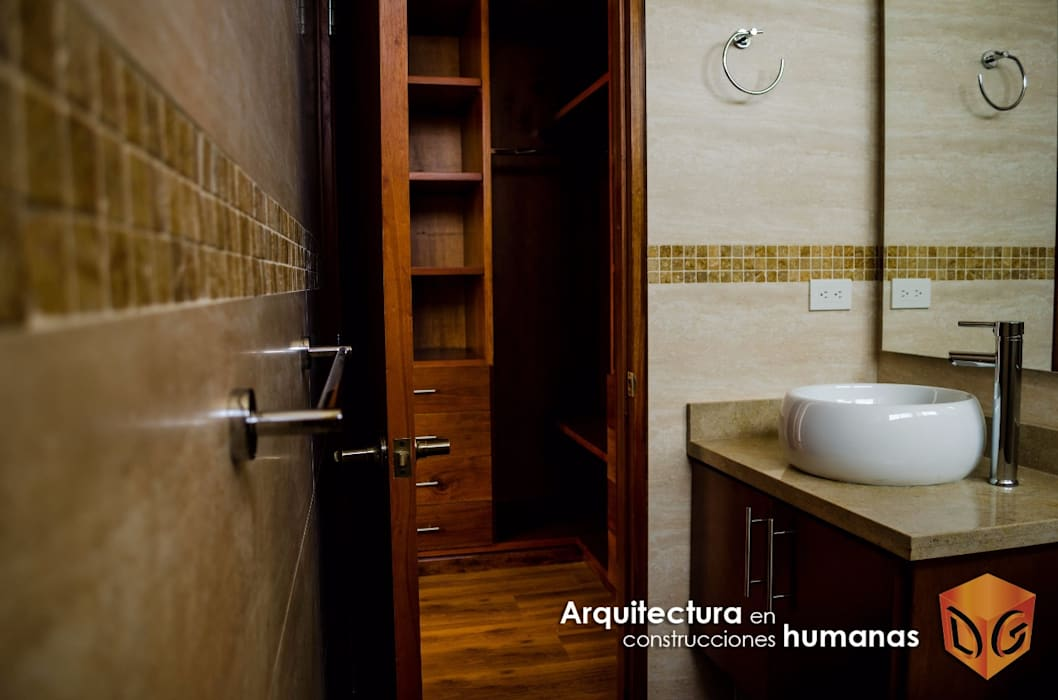 Modern Bathroom by DG ARQUITECTURA COLOMBIA Modern Tiles