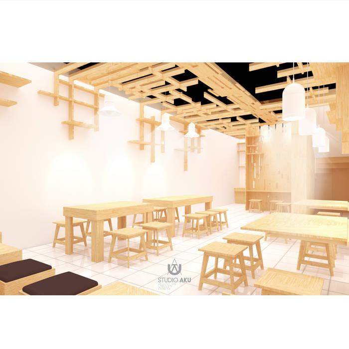 Cafeeiro 03:  Ruang Komersial by Studio AKU