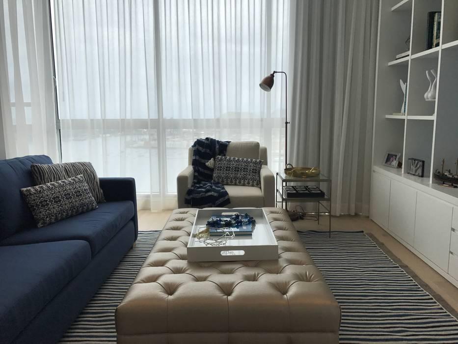 Ecologik Phòng giải trí phong cách chiết trung Blue