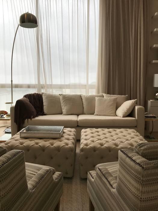 Ecologik Phòng ngủ phong cách chiết trung Beige