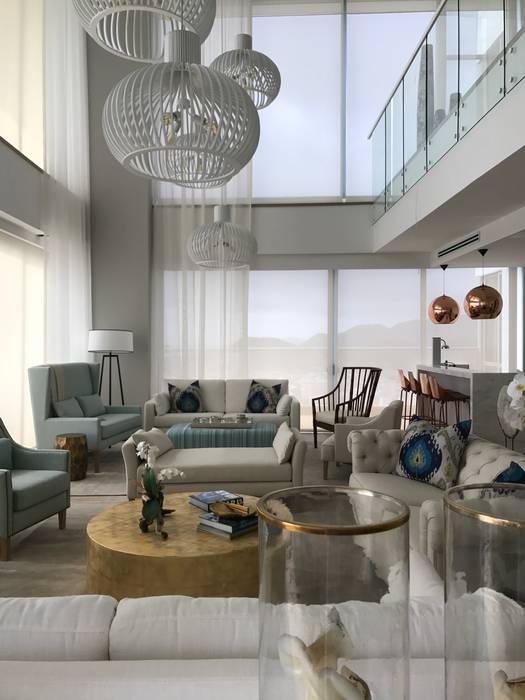 sala Salas de estilo ecléctico de Ecologik Ecléctico