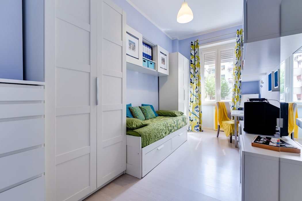 Cameretta-studio camera da letto moderna di makeup your home ...