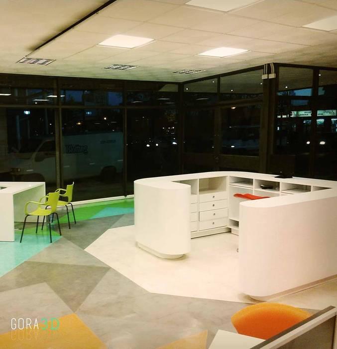 Modern study/office by GORA Arquitectura 3D Modern