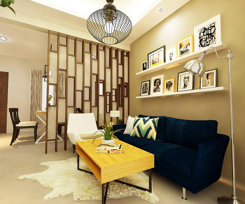 Ruang Keluarga oleh homify, Modern