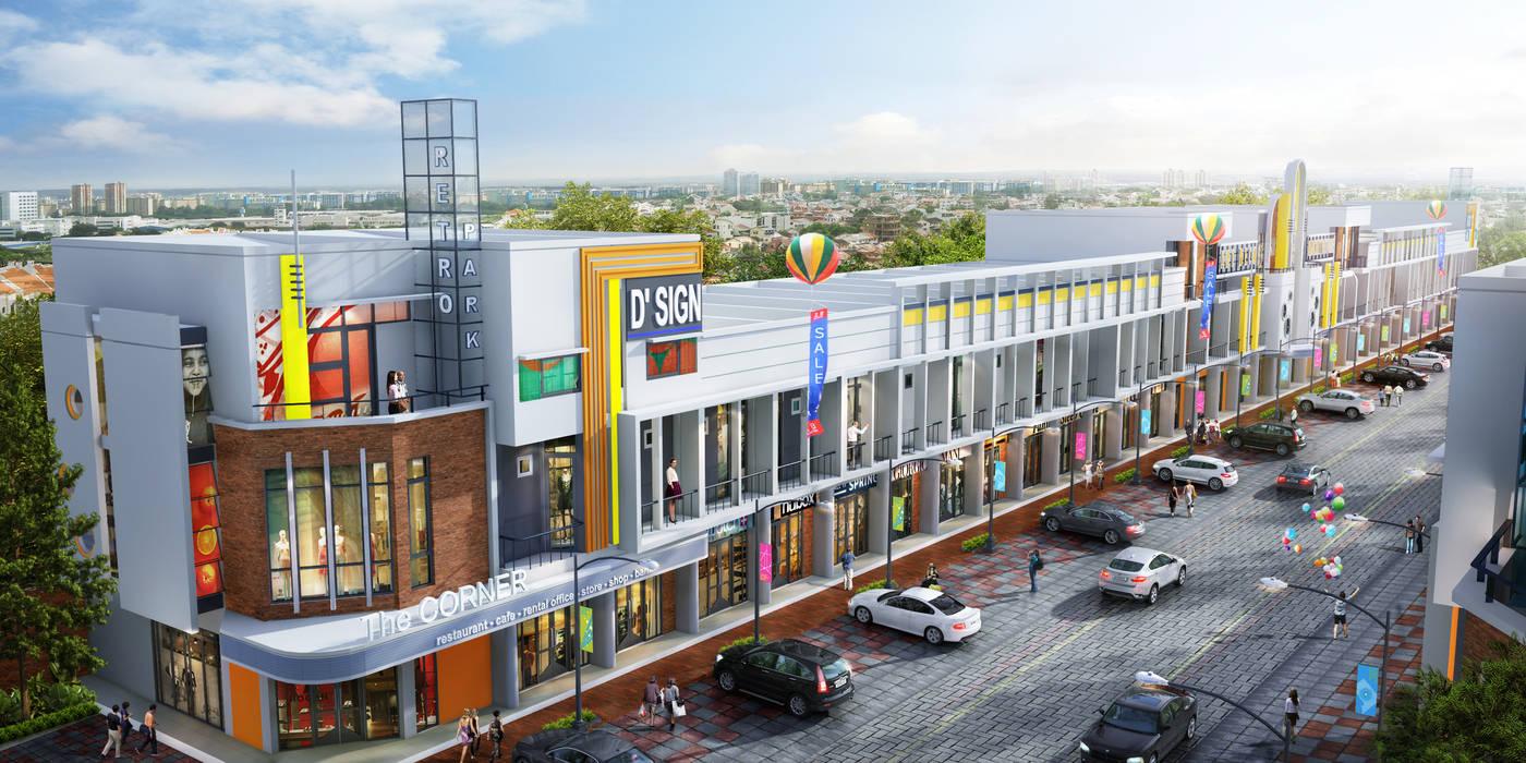 Oficinas y Tiendas de estilo  de ARSITA STUDIO architecture,