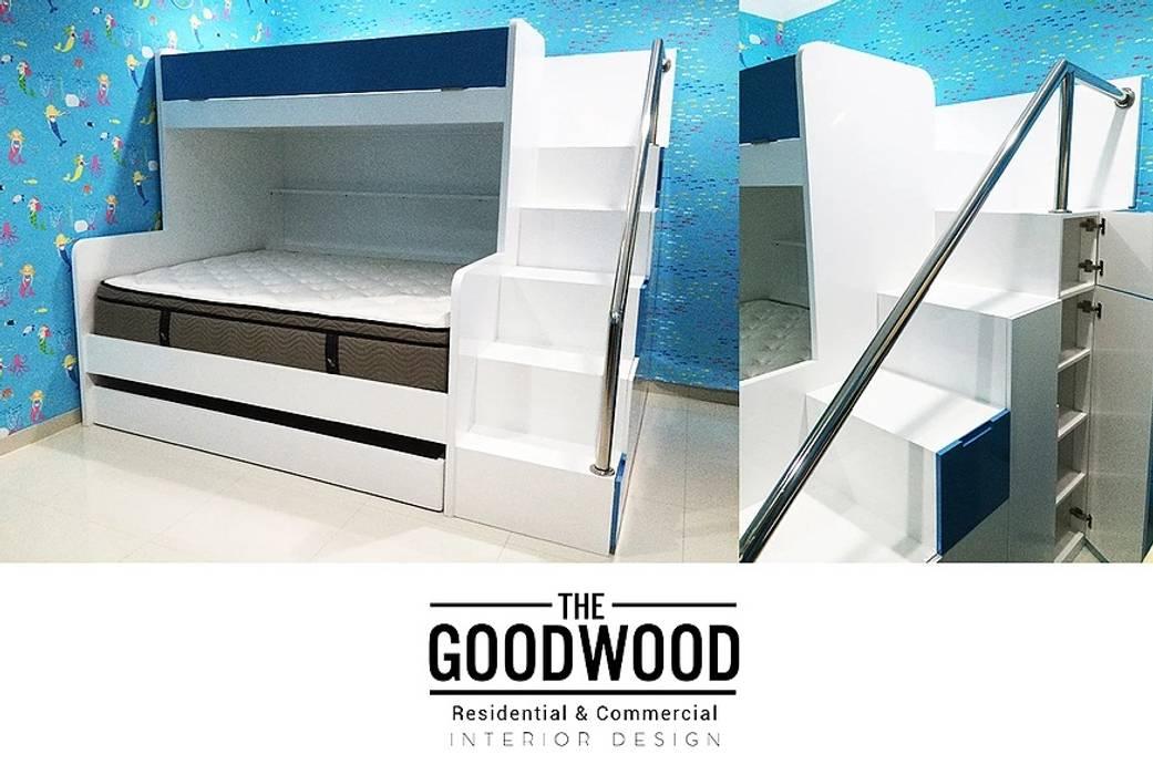 Kiddos Bunk Bed The GoodWood Interior Design Kamar Tidur Modern