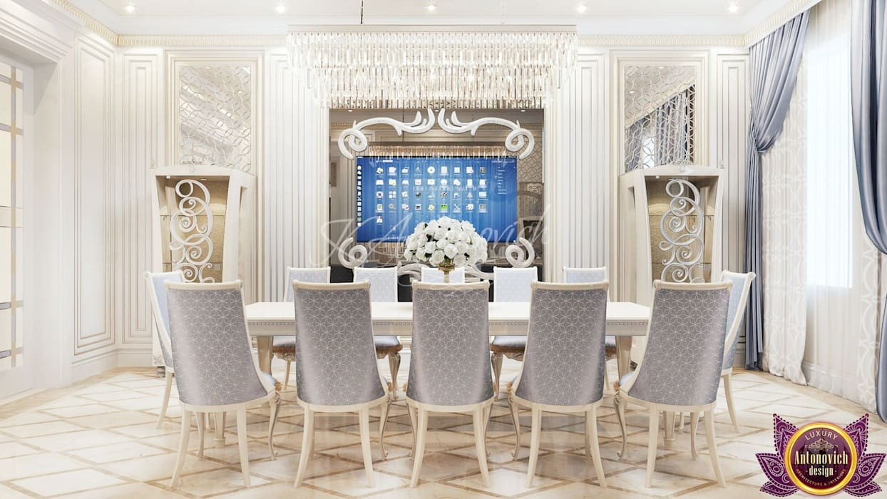 Luxury Antonovich Design Modern dining room