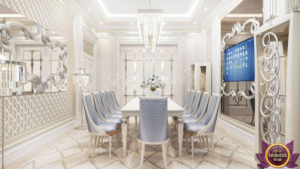 Comedores modernos de Luxury Antonovich Design Moderno