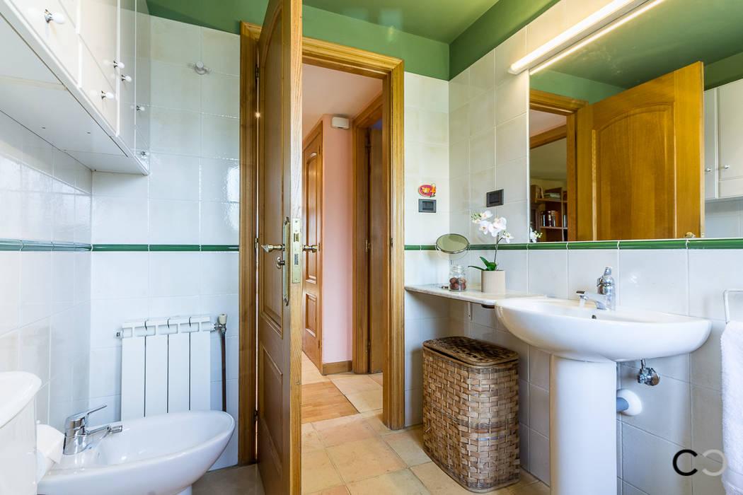 BAÑO Baños de estilo rústico de CCVO Design and Staging Rústico