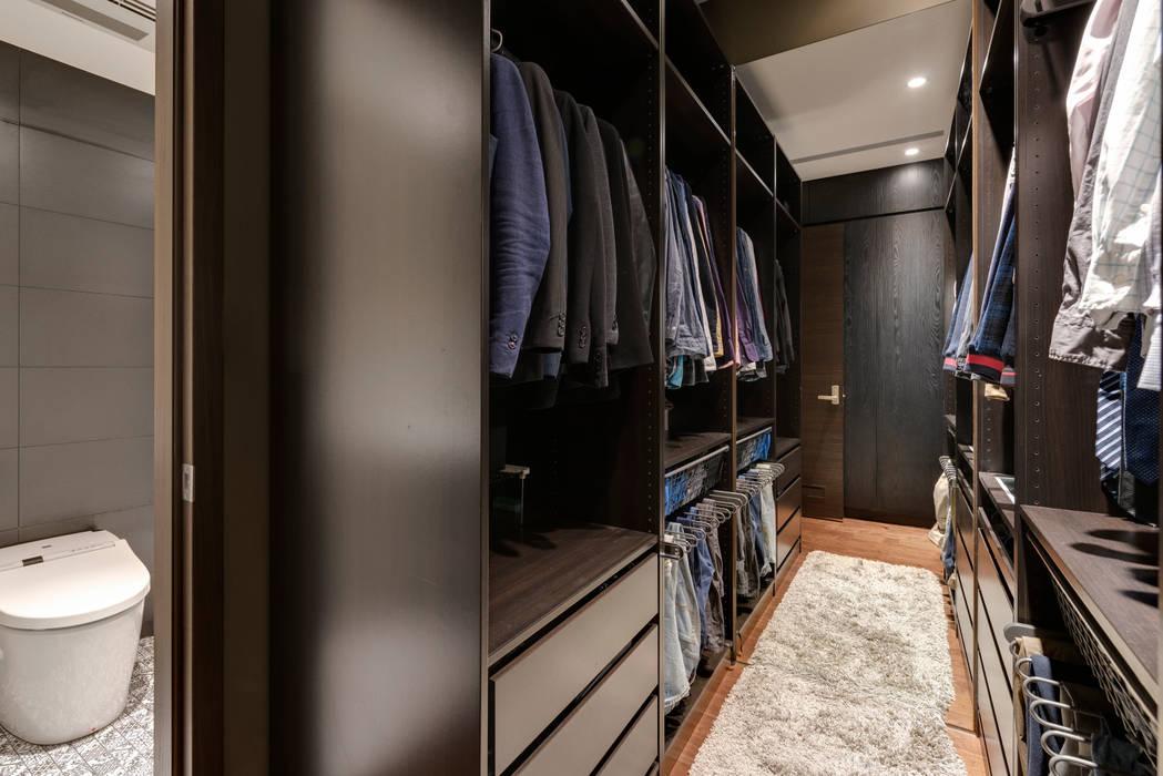 Dressing room by 齊禾設計有限公司