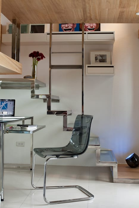 Bureau de style  par 齊禾設計有限公司, Moderne