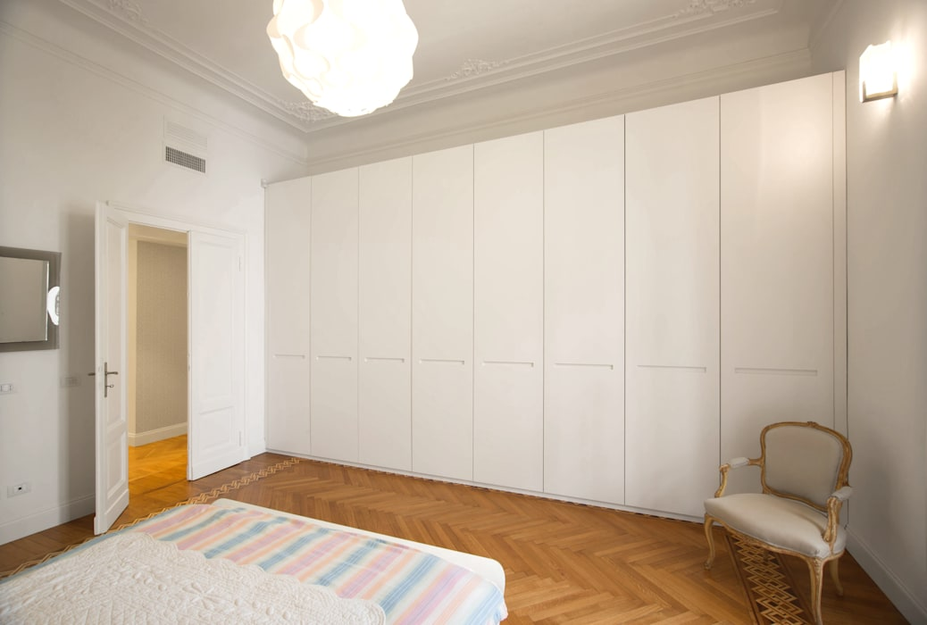 Chambre moderne par Chantal Forzatti architetto Moderne MDF
