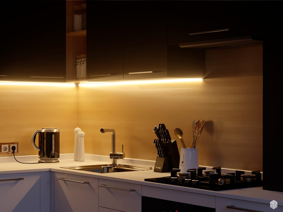 Kitchen units by 2GO Design Studio