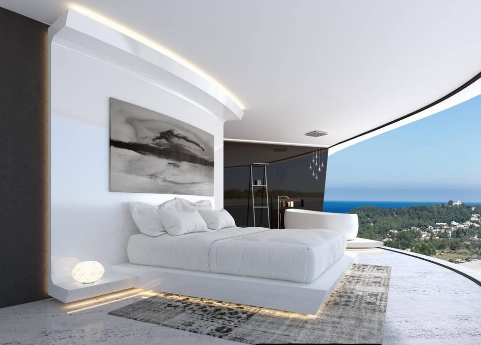 modern Bedroom by Miralbo Urbana S.L.