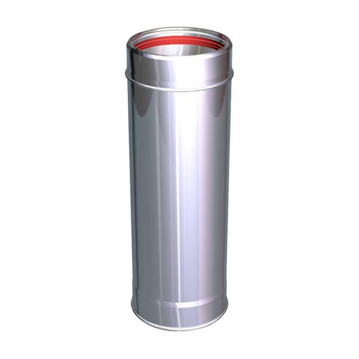 ELEMENTO LINEARE 250 MM CANNE FUMARIE INOX: Case in stile in stile Classico di CANNE FUMARIE ONLINE