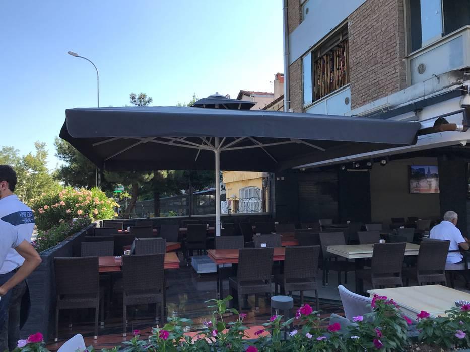 KYFF CAFE ŞEMSİYESİ Akaydın şemsiye Tropikal Demir/Çelik