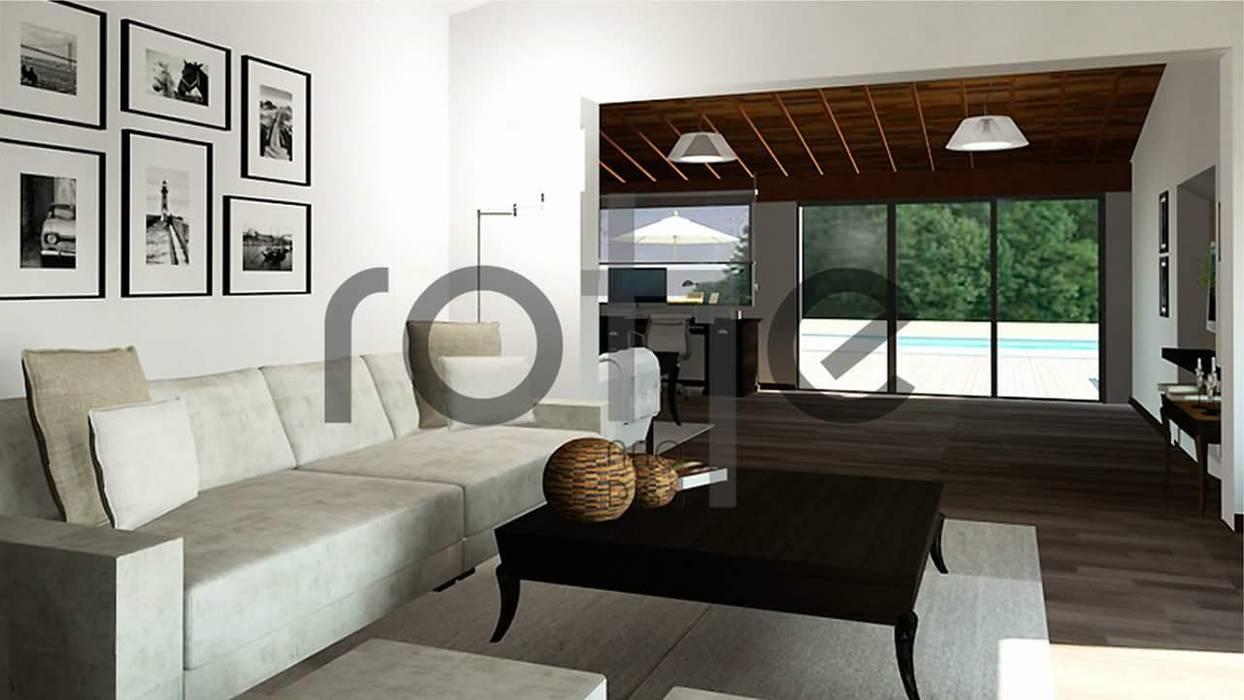by Rohe Arquitectura+Diseño Modern Bricks