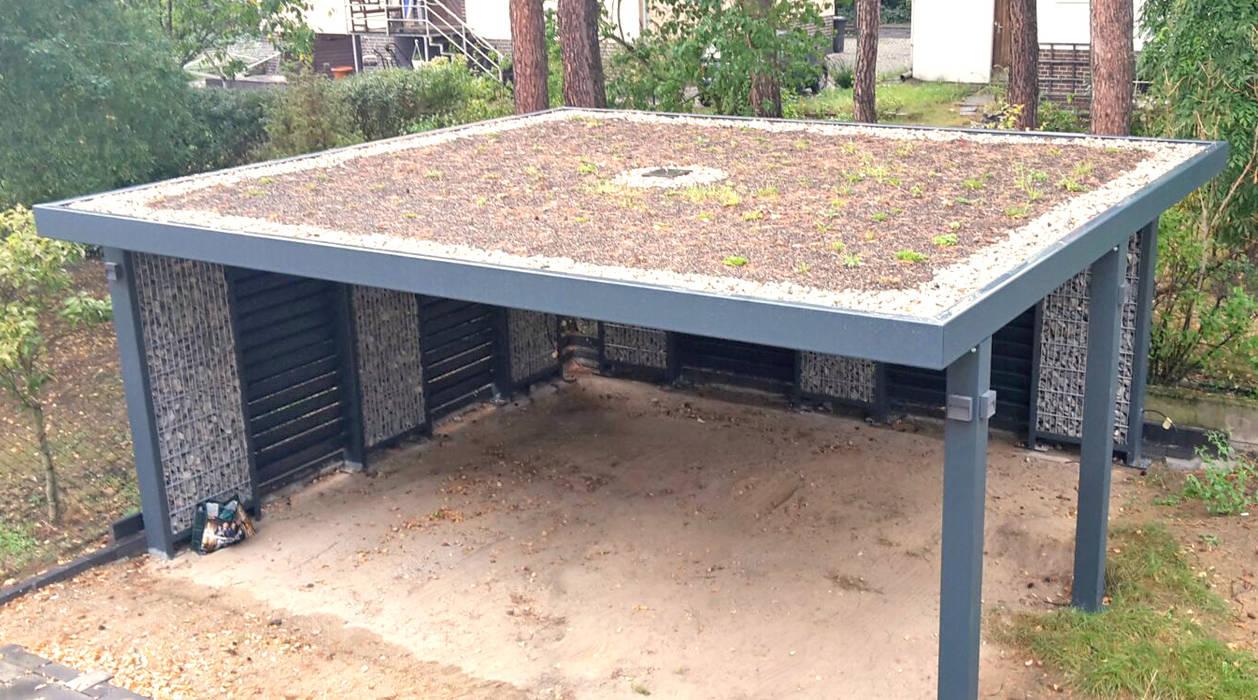 Gründach-variante: carport von steelmanufaktur beyer | homify