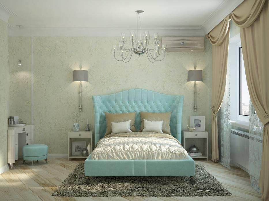 3к.кв. для больший семьи в Черемушки 2: Спальни в . Автор – ДизайнМастер,