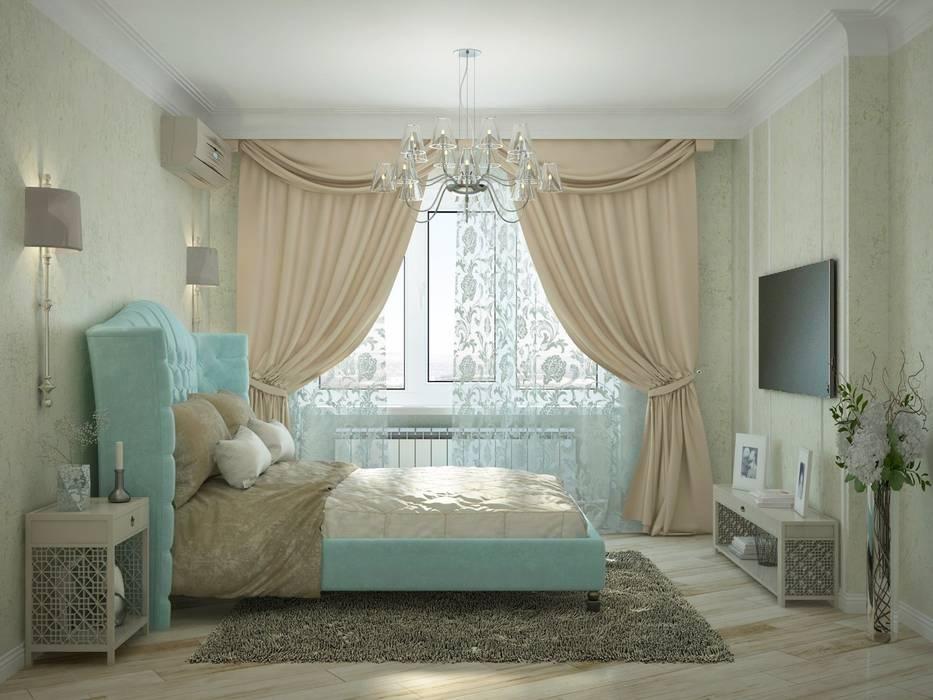 3к.кв. для больший семьи в Черемушки 2: Спальни в . Автор – ДизайнМастер