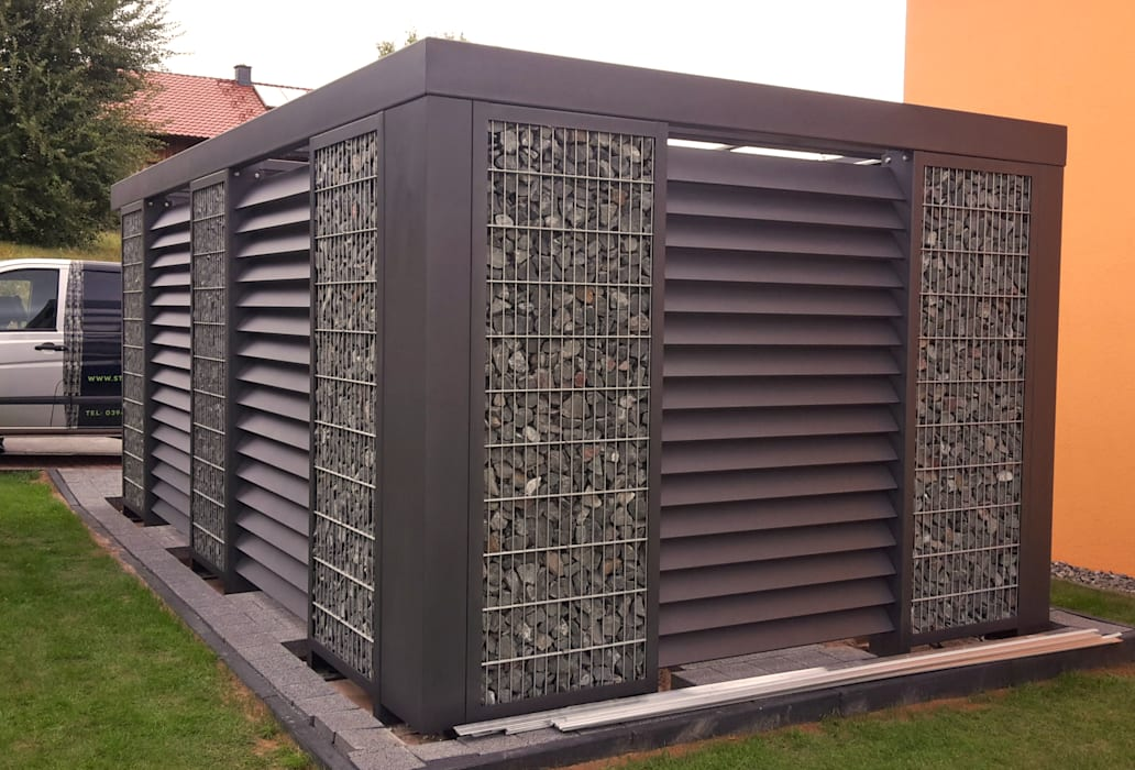 Cobertizos de estilo  por Steelmanufaktur Beyer,