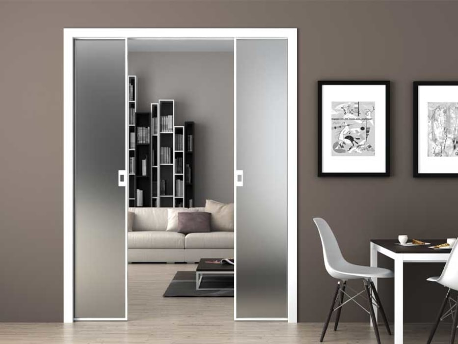 Modern style doors by BestFix-Schuifdeursystemen Modern