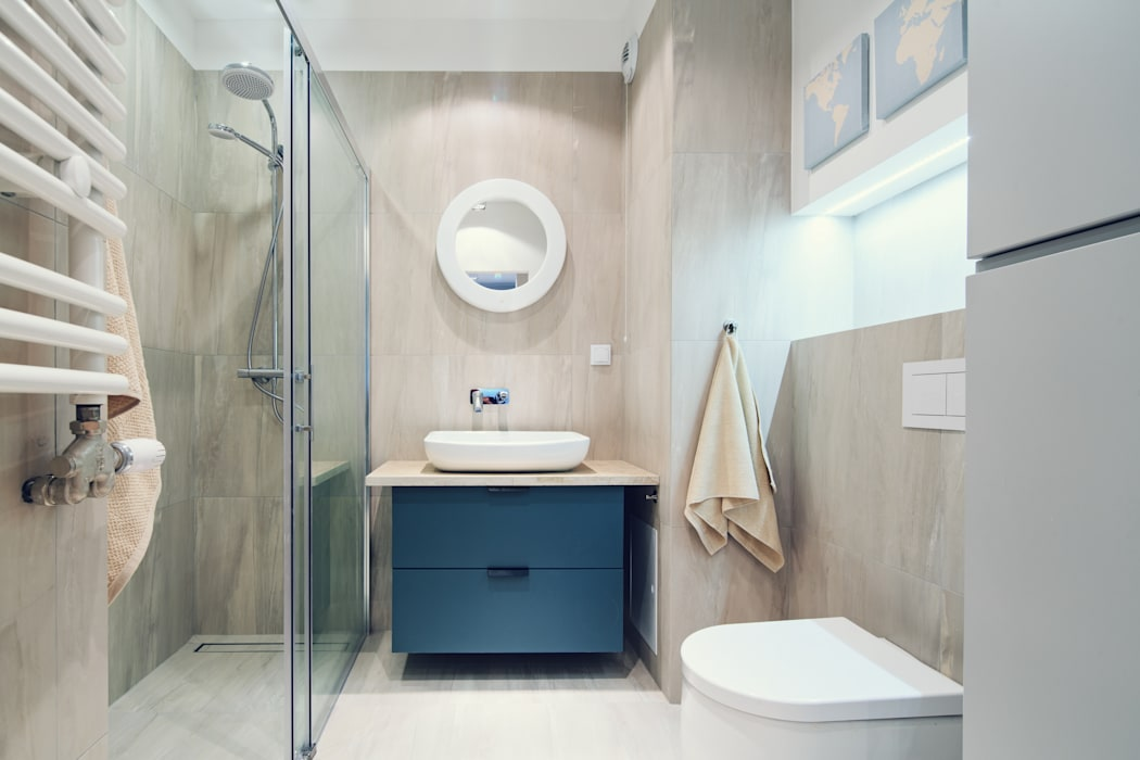 Scandinavian style bathroom by SUMA Architektów Scandinavian