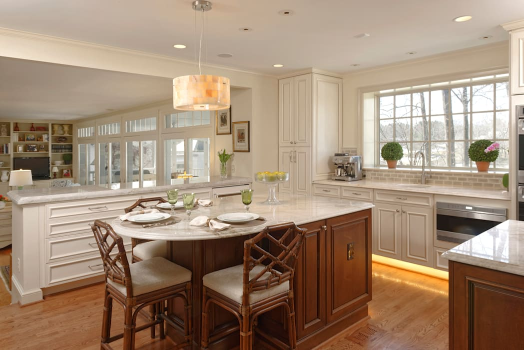 """Cook's Kitchen"" Renovation in Potomac, Maryland BOWA - Design Build Experts 廚房"