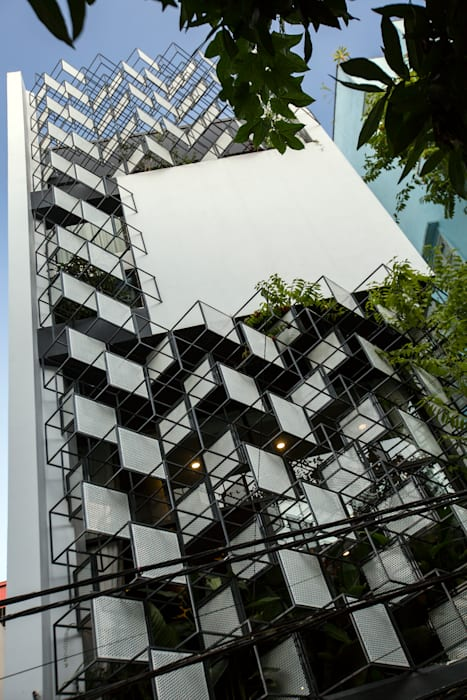 STH - Stairhouse by deline architecture consultancy & construction Tropical Iron/Steel