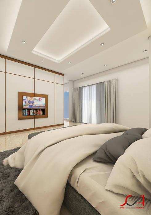Minimalist bedroom by SCIArchitecture Minimalist Plywood