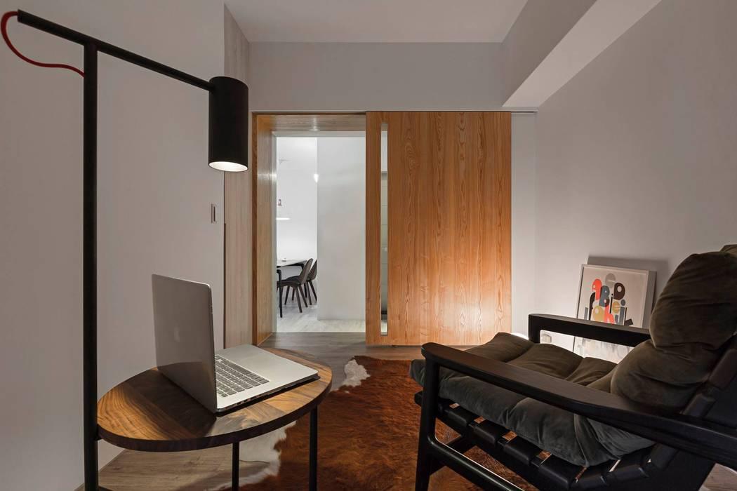 樸.淨 築川設計 書房/辦公室