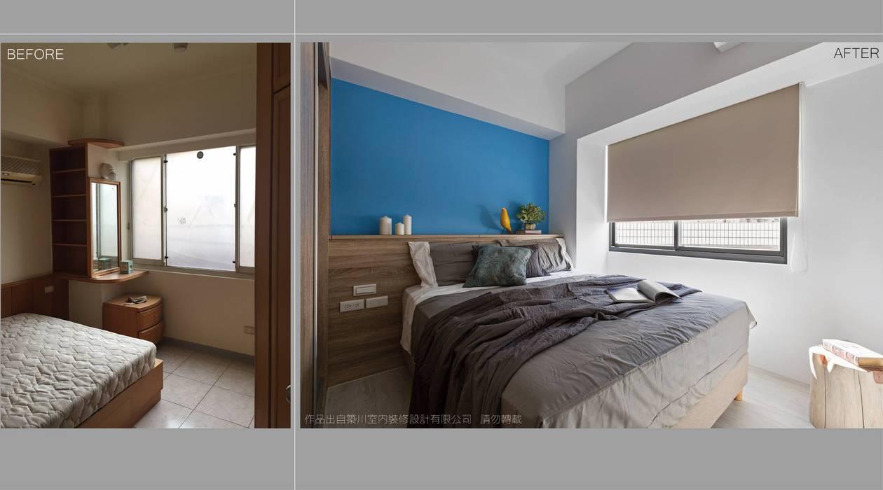 樸.淨 築川設計 臥室