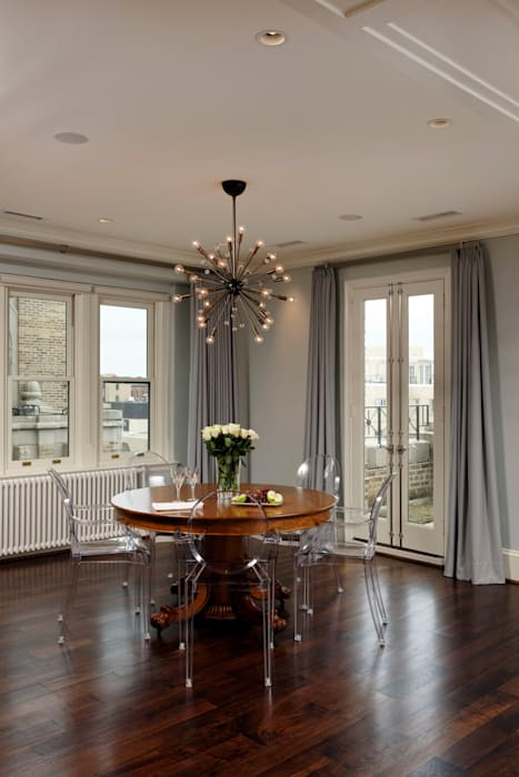 Luxury Kalorama Condo Renovation in Washington DC Classic style dining room by BOWA - Design Build Experts Classic
