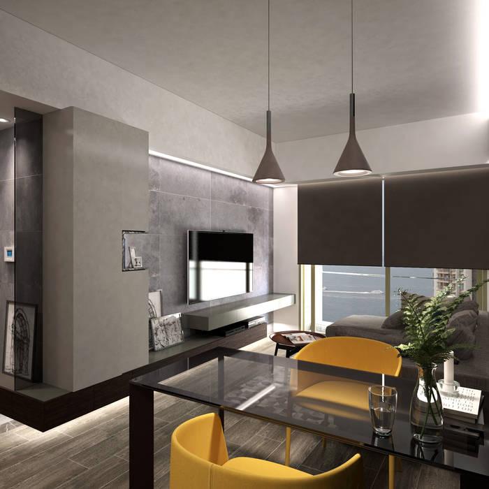 Modern dining room by Nelson W Design Modern