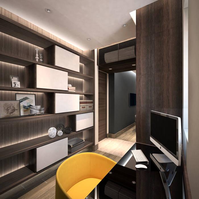 Modern style bedroom by Nelson W Design Modern