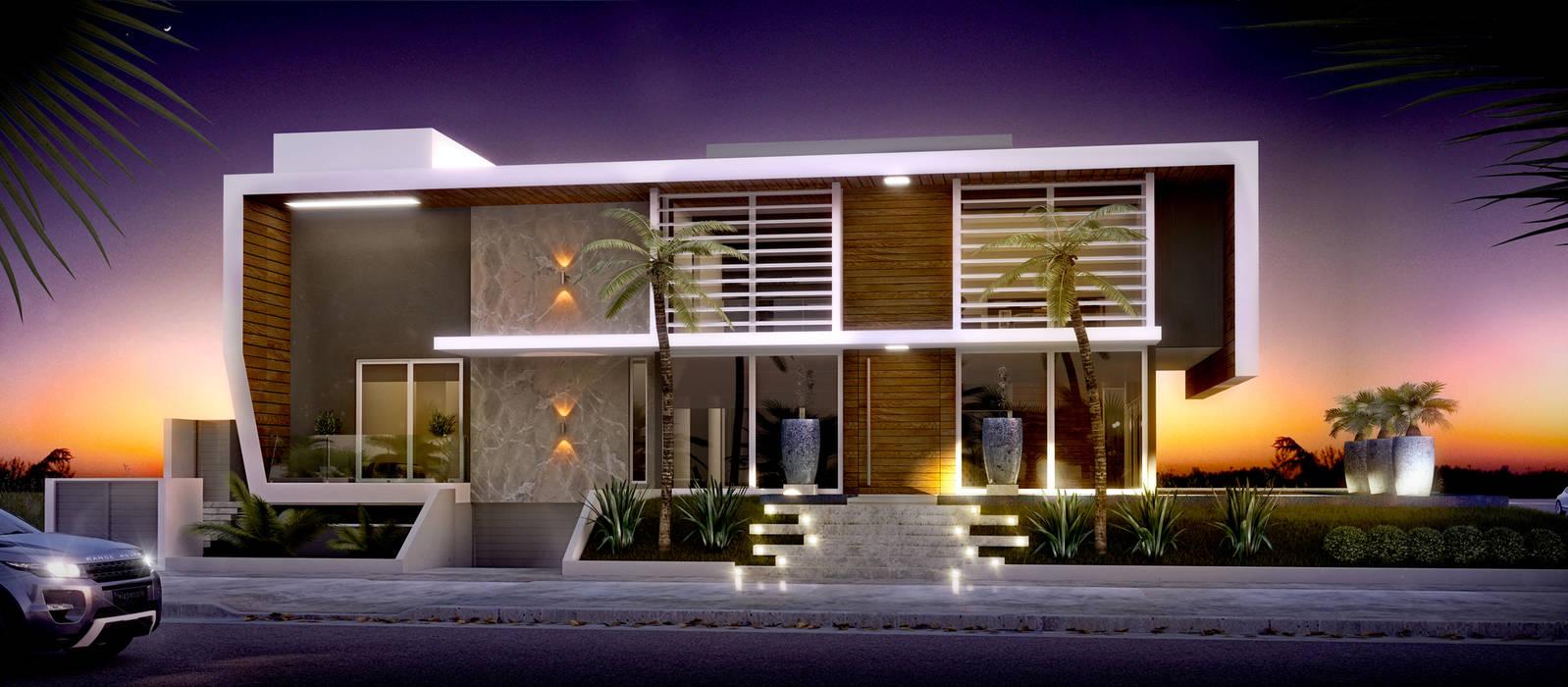 Modern houses by studio vert arquitetura Modern
