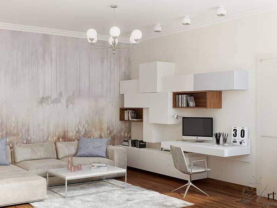 Дизайн интерьера гостевой комнаты: Гостиная в . Автор – Арт-Идея