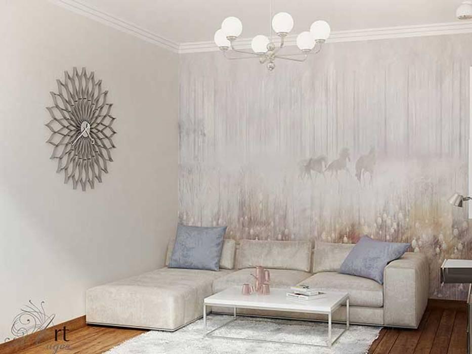 комната дизайн интерьера: Гостиная в . Автор – Арт-Идея