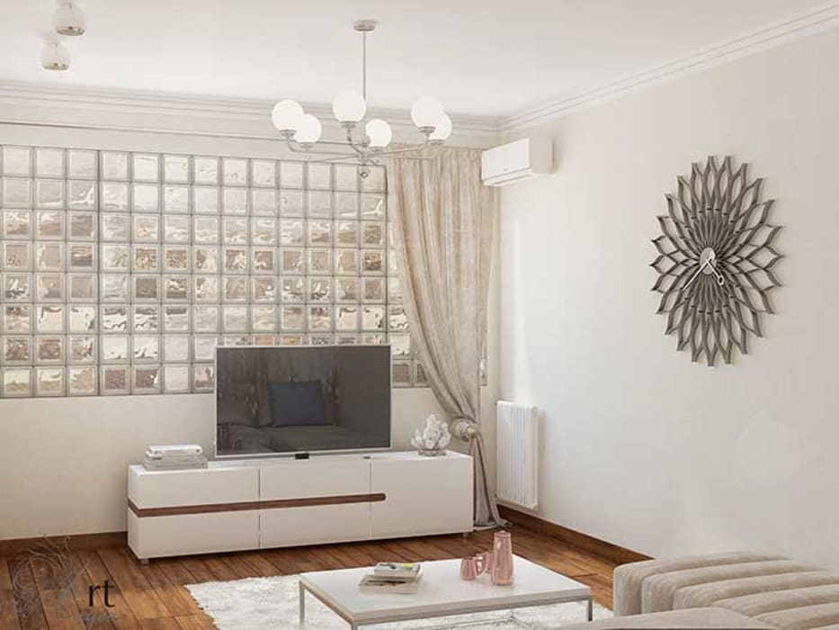 спальня гостиная дизайн интерьера в Симферополе, Крыму: Гостиная в . Автор – Арт-Идея