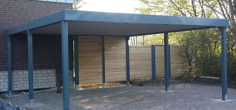 Stahlcarport Mit Sichtschutz Carport Von Carport Schmiede Gmbh Co