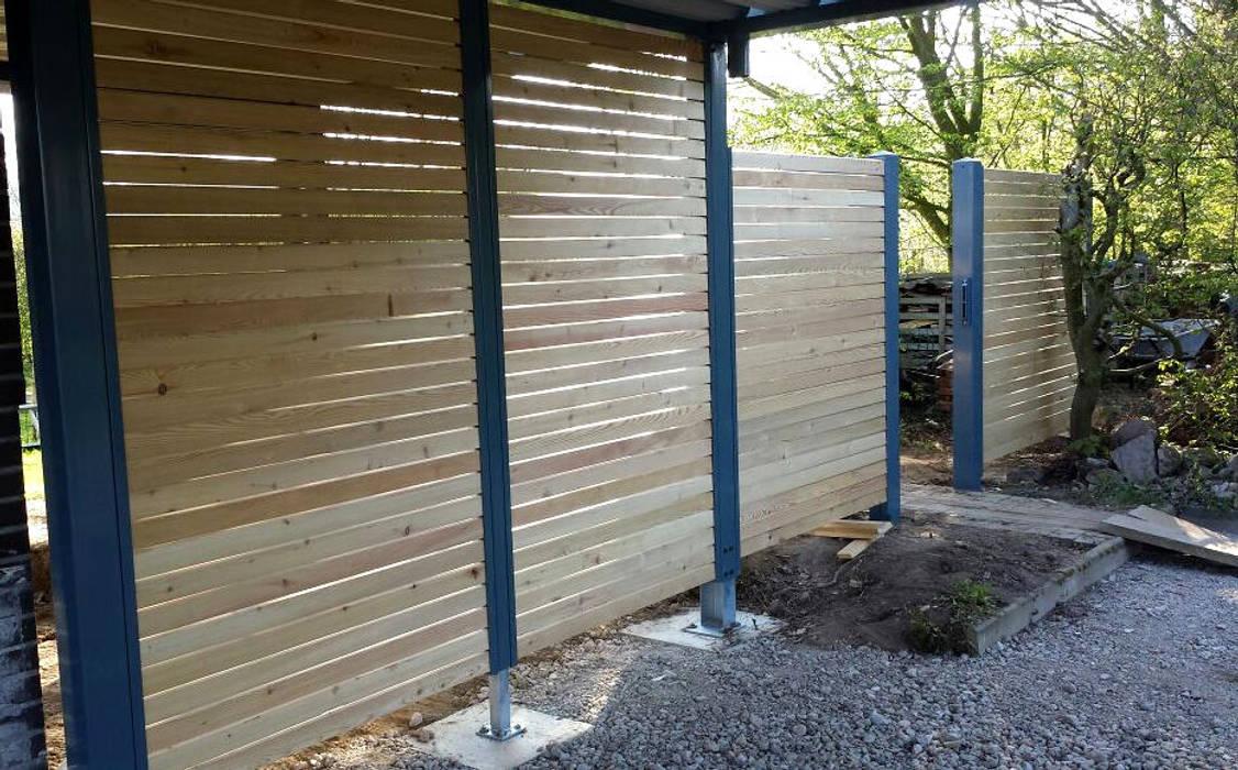 Holz Blickdicht Sibirische Larche Von Carport Schmiede Gmbh Co