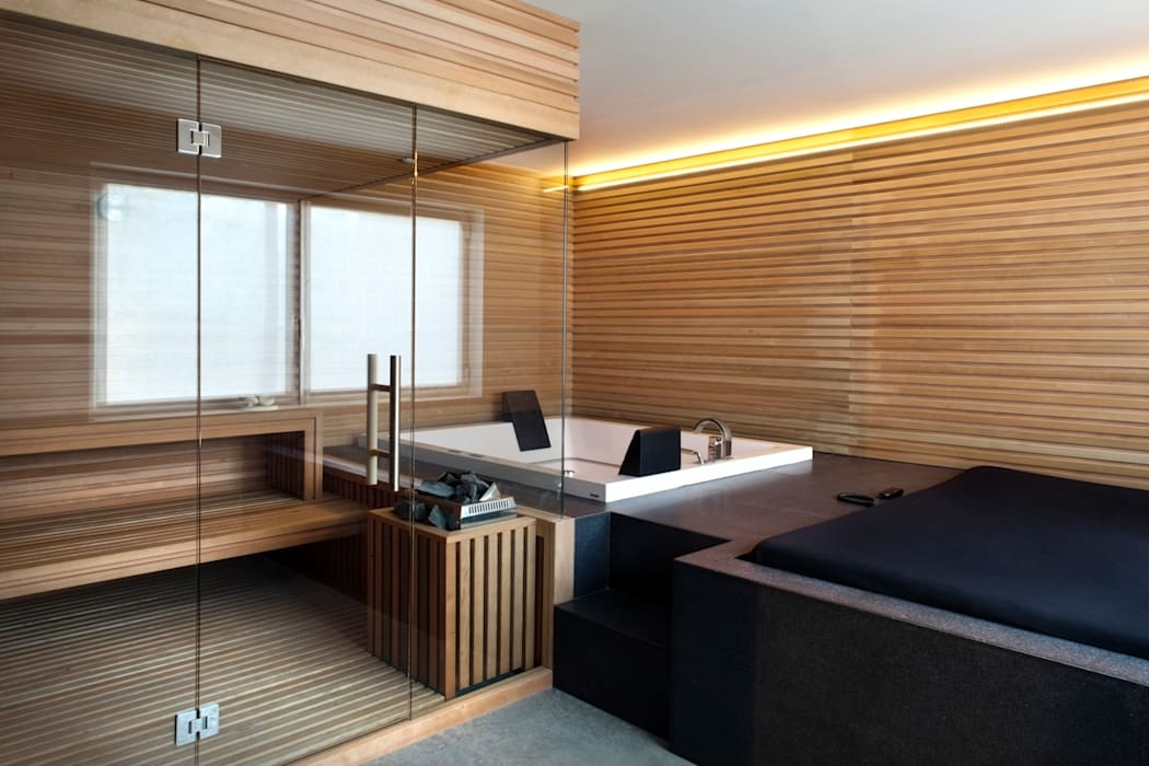 Sauna oleh MIDE architetti