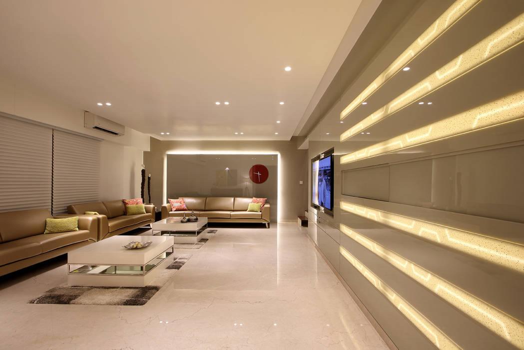 safal penthouse Moderner Flur, Diele & Treppenhaus von USINE STUDIO Modern
